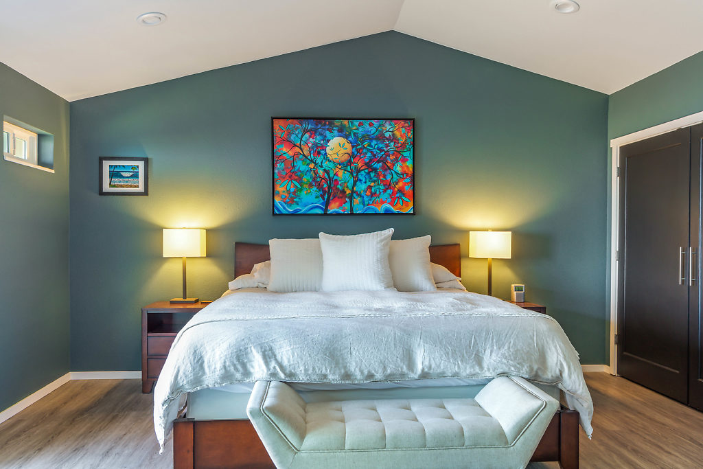 Bedroom, Real Estate on Whidbey, Whidbey Island, Anita