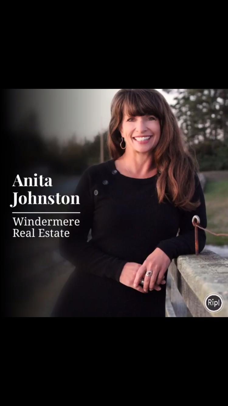 Soy es Anita Johnston Windermere Realtor Oak Harbor, WA