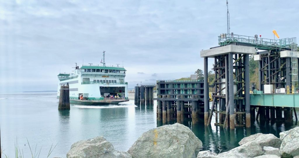 Coupeville- Port Townsend ferry